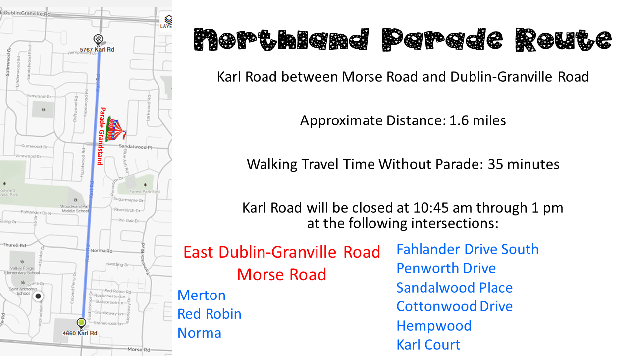 northland-parade-route